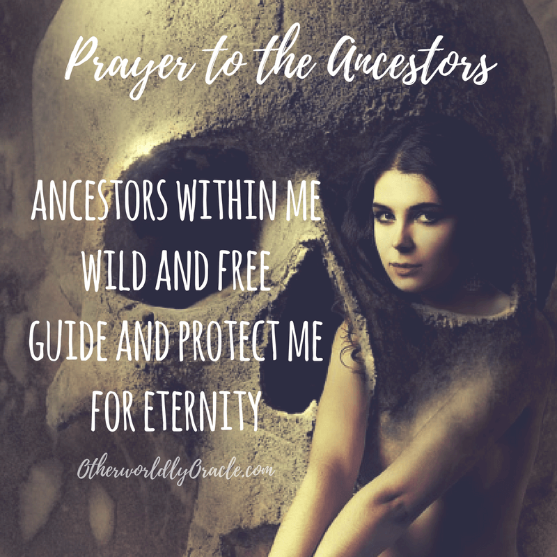 ancestor prayer tutorial calling on ancestors for help