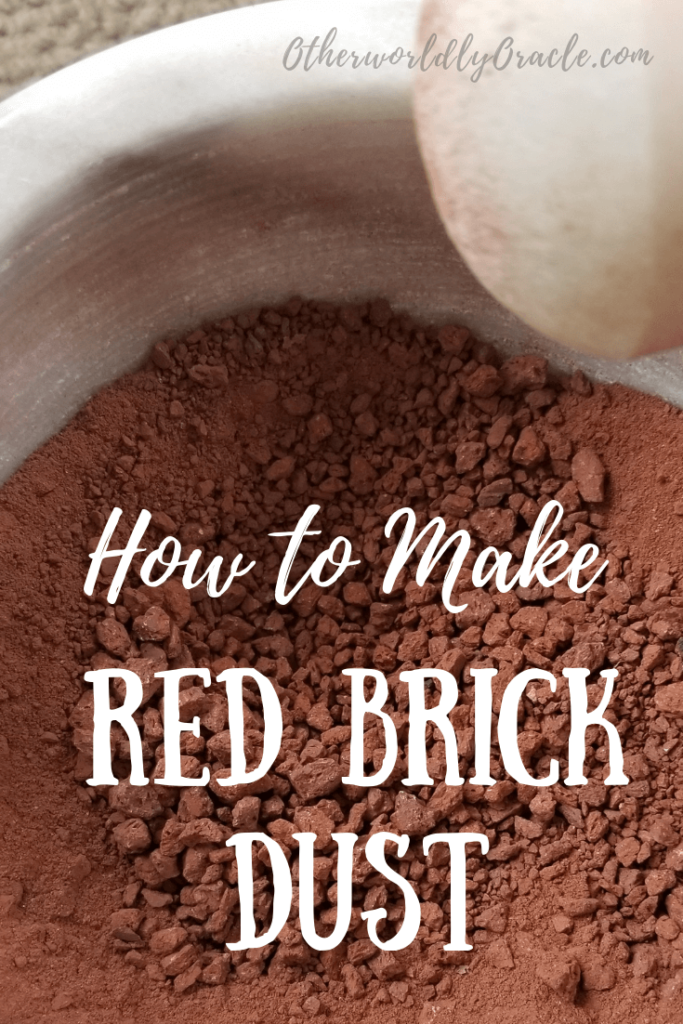 How To Make Red Brick Dust And Uses