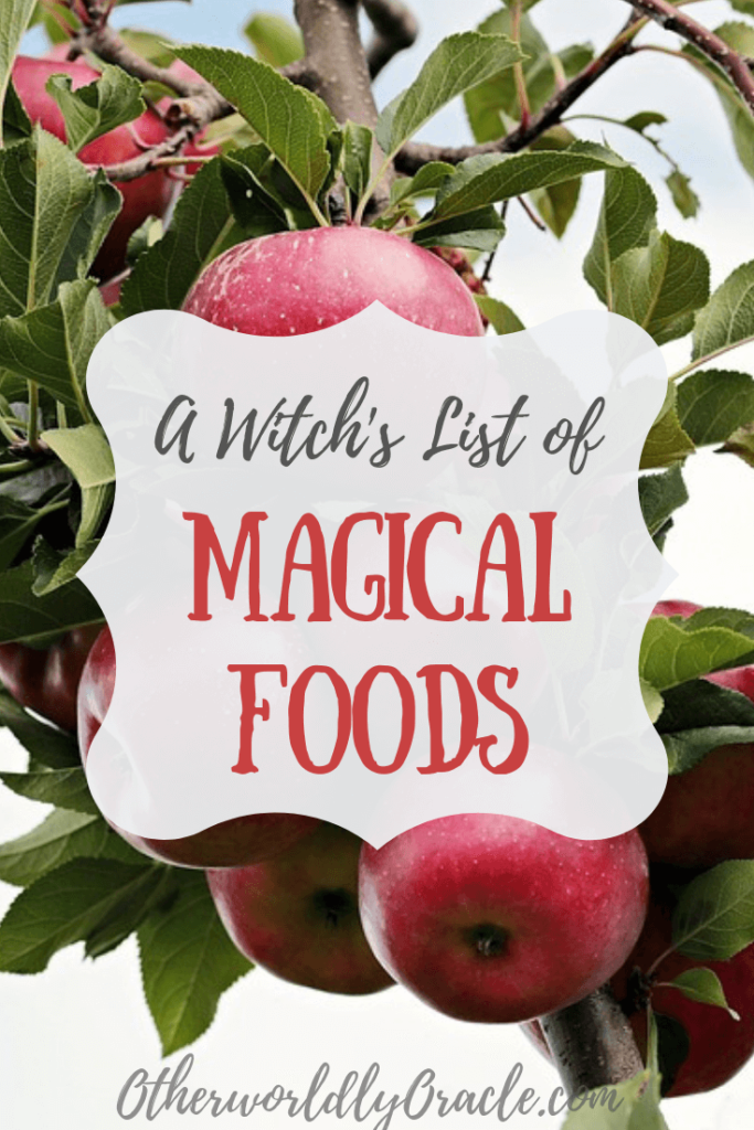 The Kitchen Witch's Food List: Magical Properties of Food