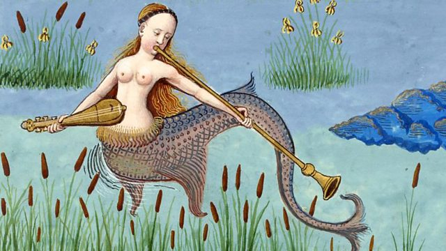 Mermaids are seen in Medieval art often...I wonder why?