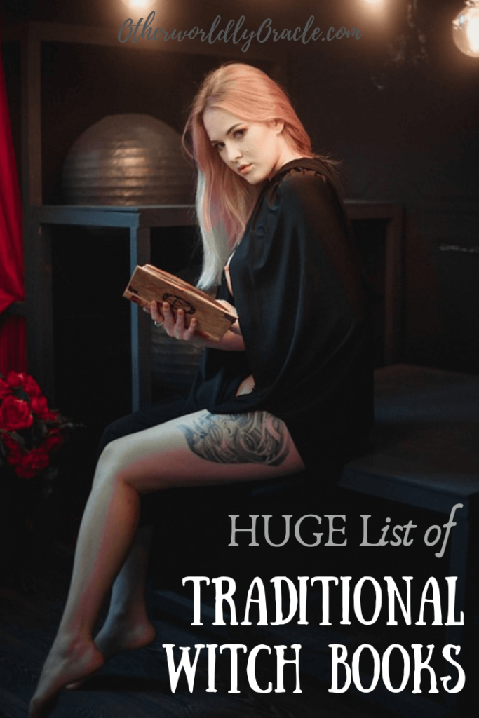 HUGE List of Traditional Witch Books: Witchcraft, Folklore, and