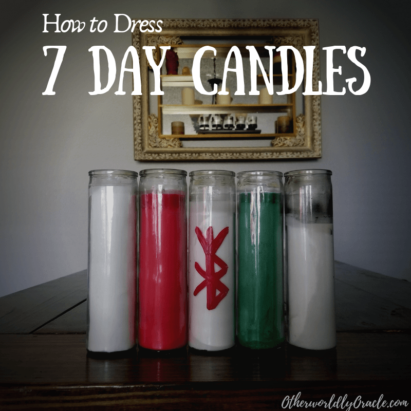 7 Day Candles: How to Dress Glass Jar Candles for Spells